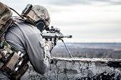 foto of sniper  - U - JPG