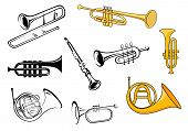 picture of clarinet  - Trumpets - JPG