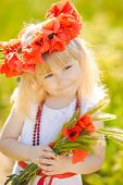 pic of red-necked  - Little girl  - JPG