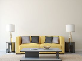 picture of couch  - Modern living - JPG