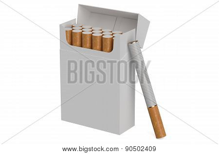 White Cigarettes Pack