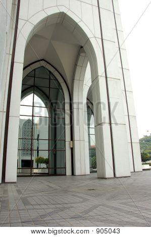 Edificio con característica islámica