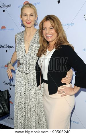 LOS ANGELES - MAY 12:  Kelly Rutherford, Patrice Lenowitz at the Children's Justice Campaign Event at the Private Residence on May 12, 2015 in Beverly Hills, CA