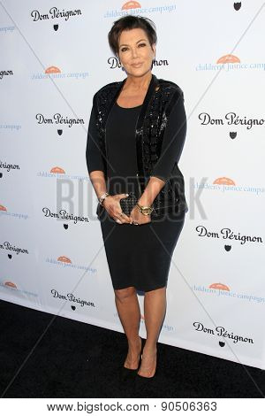 LOS ANGELES - MAY 12:  Kris Jenner at the Children's Justice Campaign Event at the Private Residence on May 12, 2015 in Beverly Hills, CA