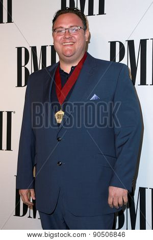 LOS ANGELES - MAY 12:  Evan Kidd Bogart at the BMI Pop Music Awards at the Beverly Wilshire Hotel on May 12, 2015 in Beverly Hills, CA