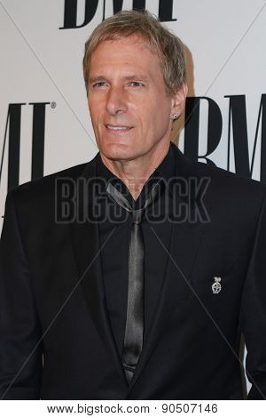 LOS ANGELES - MAY 12:  Michael Bolton at the BMI Pop Music Awards at the Beverly Wilshire Hotel on May 12, 2015 in Beverly Hills, CA