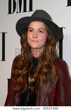 LOS ANGELES - MAY 12:  Brandi Carlile at the BMI Pop Music Awards at the Beverly Wilshire Hotel on May 12, 2015 in Beverly Hills, CA
