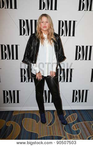 LOS ANGELES - MAY 12:  Grace at the BMI Pop Music Awards at the Beverly Wilshire Hotel on May 12, 2015 in Beverly Hills, CA