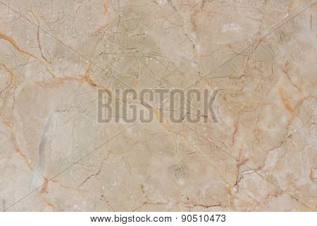 Cream Marble Stone Wall Texture.