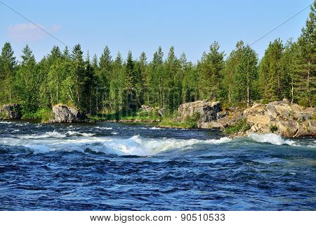 Umba River, Kola Peninsula, Russia
