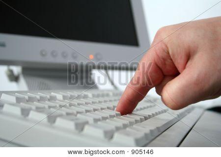 Start Finger On The Button