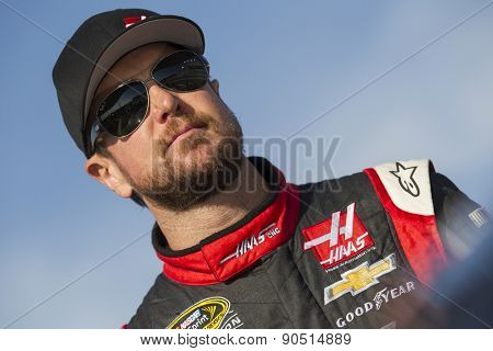 Richmond, VA - Apr 24, 2015:  Kurt Busch (41) watches his crew work during a practice session for the Toyota Owners 400 at Richmond International Raceway in Richmond, VA.
