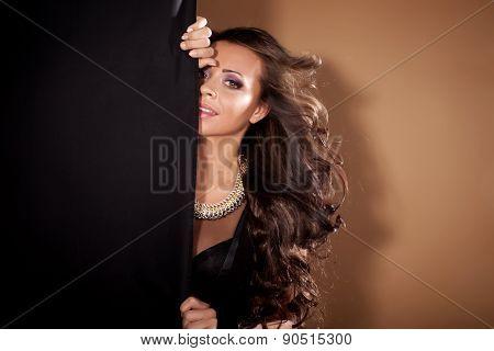 Portrait Of Elegant Woman.