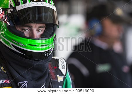 Richmond, VA - Apr 24, 2015:  Austin Dillon (3) prepares for practice for the Toyota Owners 400 at Richmond International Raceway in Richmond, VA.