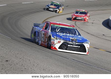 Richmond, VA - Apr 24, 2015:  Clint Bowyer (15) qualifies 17th for the Toyota Owners 400 race at the Richmond International Raceway in Richmond, VA.