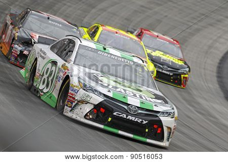 Bristol, TN - Apr 19, 2015:  Matt Dibenedetto (83) brings his race car through the turns during the Food City 500 race at the Bristol Motor Speedway in Bristol, TN.