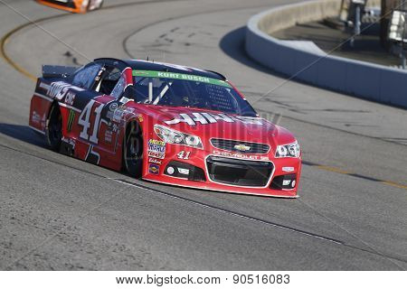 Richmond, VA - Apr 24, 2015:  Kurt Busch (41) qualifies 3rd for the Toyota Owners 400 race at the Richmond International Raceway in Richmond, VA.