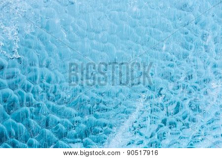 Ice texture of Iceberg wall using as background