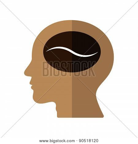 Think Of Coffee Vector Illustration