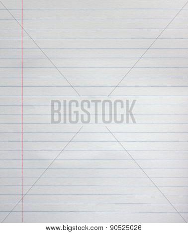 Line Paper Sheet