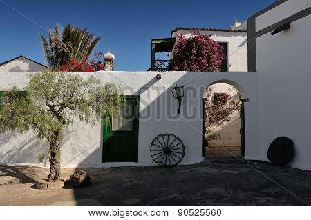 The Agricultural Museum, Tiagua, Lanzarote Island, Canary Islands, Spain
