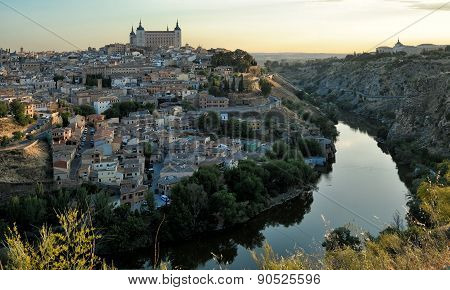 Morning Of  Toledo, Spain