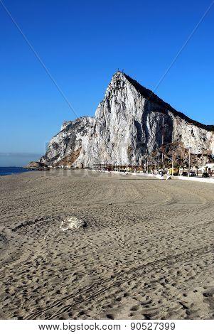 La Linea Beach, Spain.