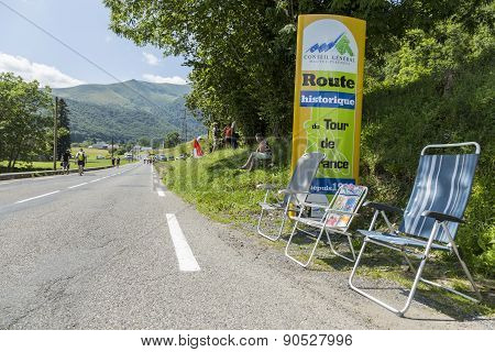 Road To Col Du Tourmalet - Tour De France 2014