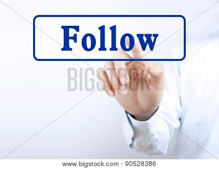 Press Follow Button