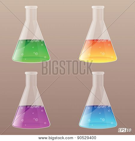 Conical Flask - Illustration
