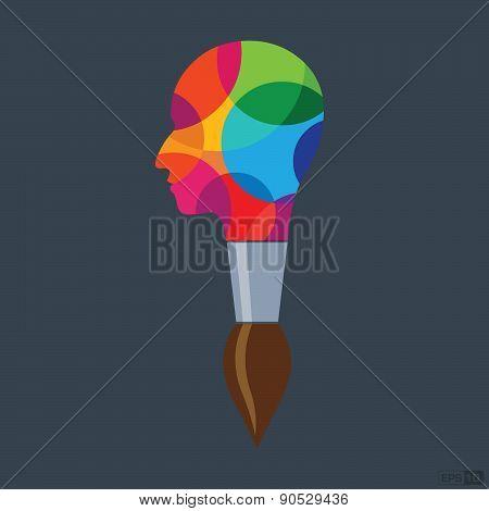 Creative Idea or Inspiration - Illustration