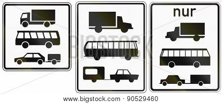 Lorries Buses And Trailers In Germany