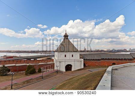 Taynitskaya Tower (1550) Of Kazan Kremlin, Russia. Unesco Site