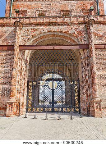 Gate Of Soyembika Tower (1690), Kazan, Russia. Unesco Site