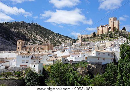 White town, Velez Blanco.
