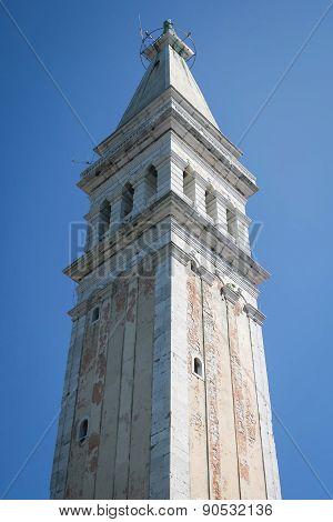 Saint Euphemia Bell Tower In Rovinj
