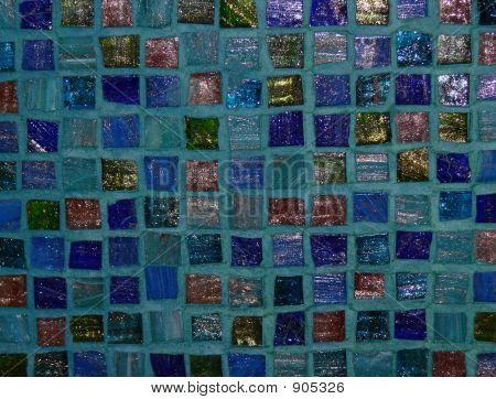 Green Tile Mosaic