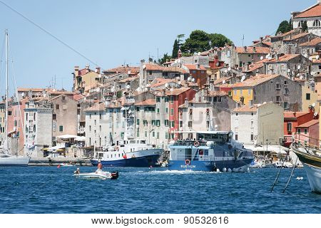 Buildings Of Rovinj