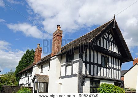 Timbered building, Leominster.