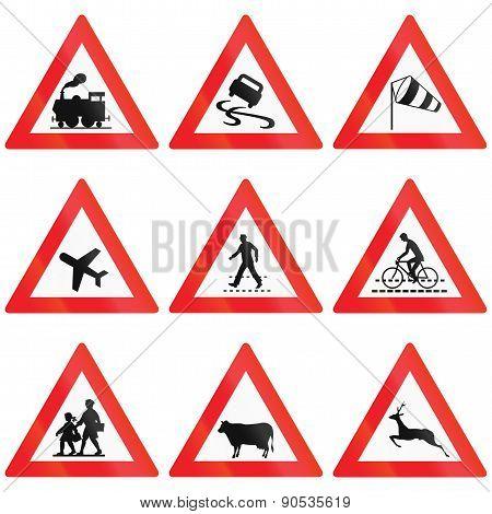 Crossing Signs In Austria