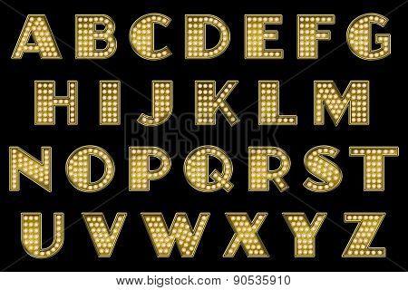 Vaudeville Alphabet