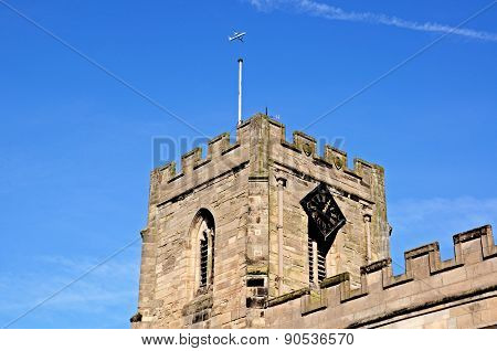 St James Chapel Tower, Warwick.