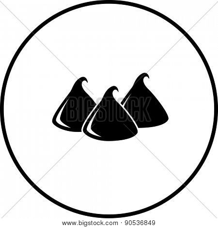 chocolate chips symbol