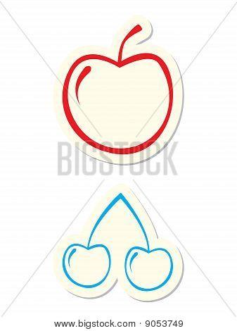 Frucht-Symbole