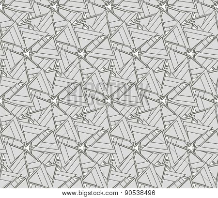 Monochrome texture with triangles