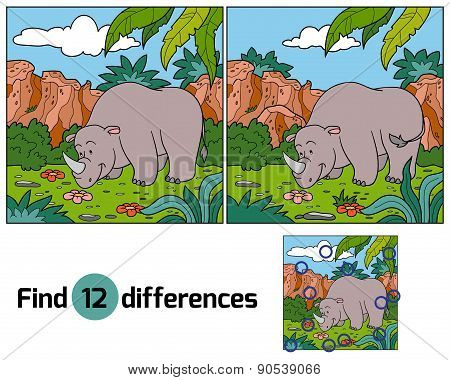 Find Differences (rhino)