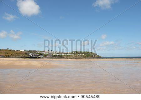 Benllech Beach.