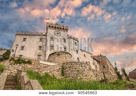 Castle In Rosignano Marittimo, Tuscany, Italy