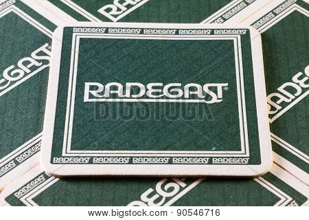 Beermats From Radegast  Beer.
