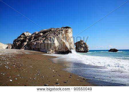 Rock of  Aphrodite (Petra Tou Romiou), Cyprus